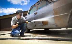 Dallas automotive sandblasting