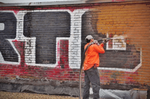 Rockwall Graffiti Removal