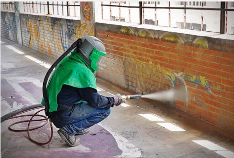 Graffiti Sandblasting