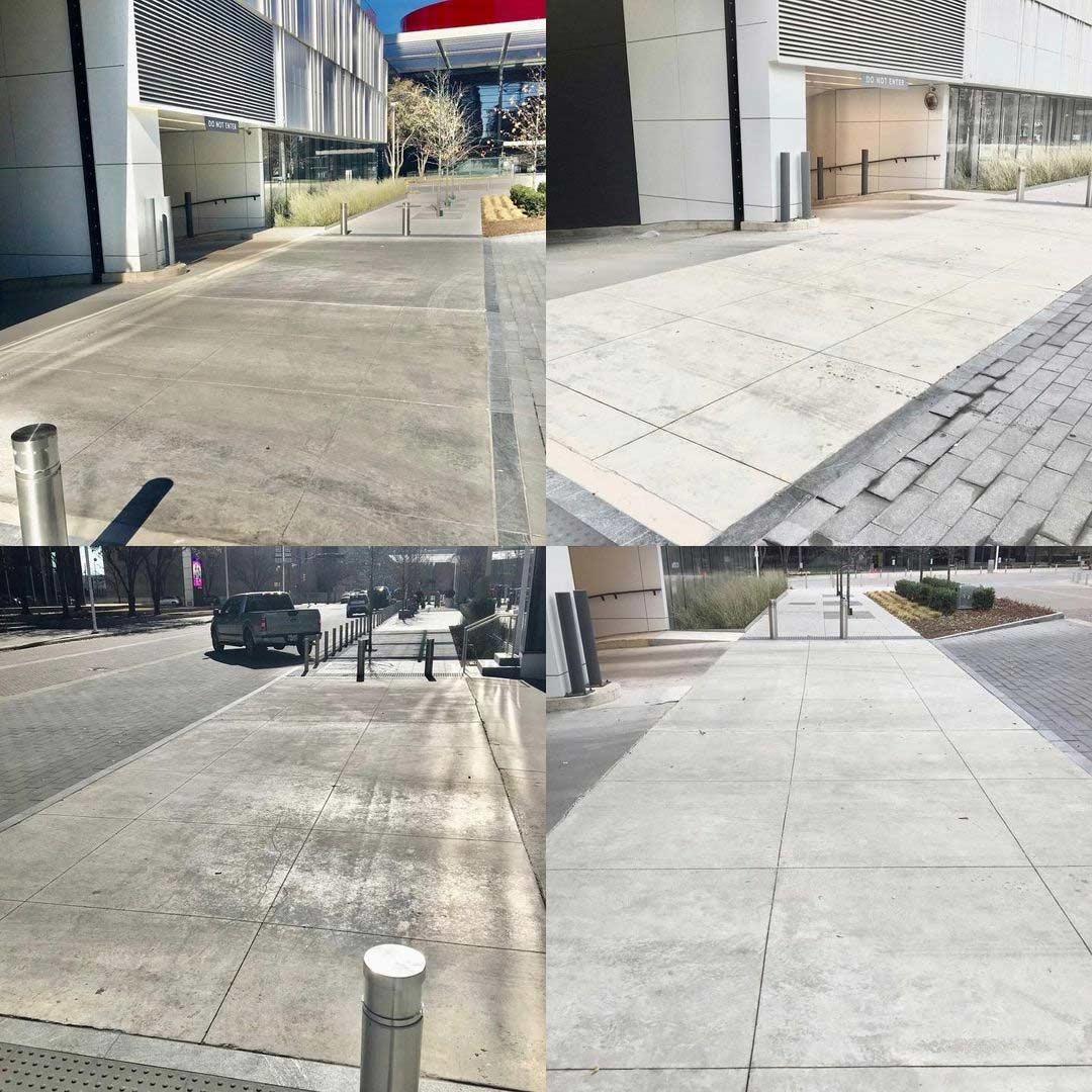 Sandblasting Concrete